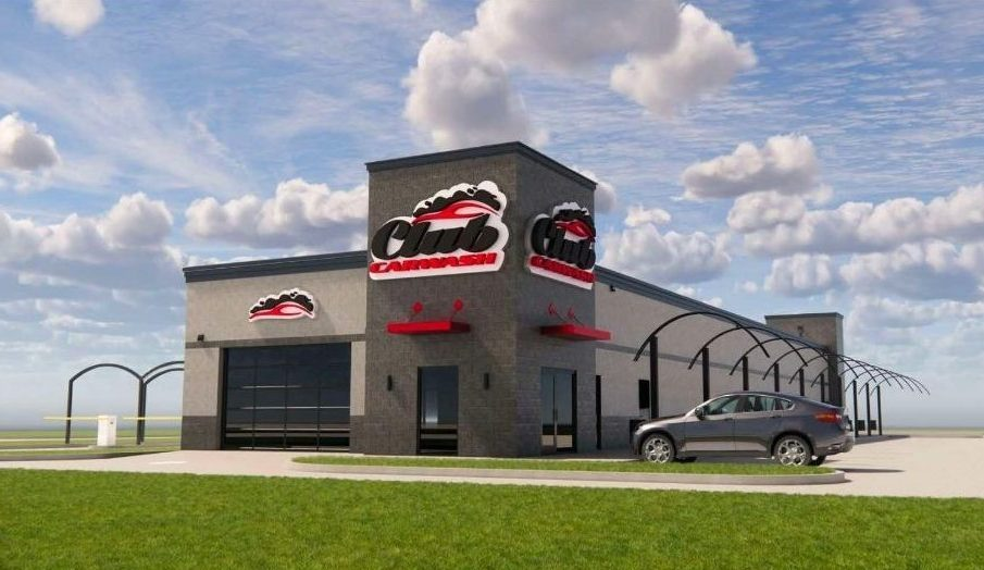 rendering of newly built location